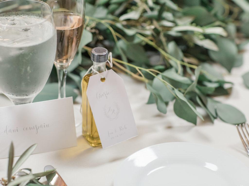 DIY Printable Wedding Favor Tags